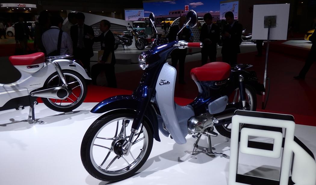 「このバイクが面白い」東京モーターショーに現れた新型カブ